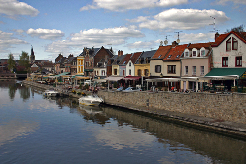 Photo of Amiens, river Somme